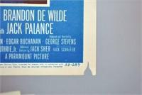 SET OF 8 MOVIE LOBBY CARDS FOR SHANE