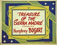 (4) TREASURE OF THE SIERRA MADRE LOBBY CARDS