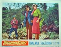 SET OF 8 MOVIE LOBBY CARDS FOR OPERATION SECRET