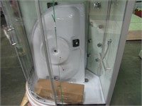 """Luxury Jetted Shower 32""""x48""""x86"""""""