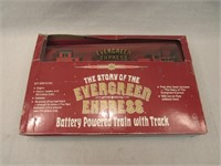 Evergreen Express Battery Powered Train with Track