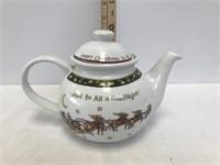 A Christmas Story Tea Pot
