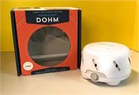 Noise Machine masks background sounds Opened box
