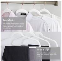 New Heavy Duty Velvet Hangers Pack Of 50