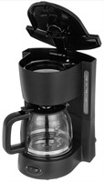 New 5 Cup Coffee Maker With Carafe