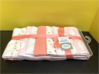 """New Set Of 7 30""""x30"""" Soft Baby Receiving Blankets"""