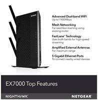 Gently Used Netgear WiFi Mesh Range Extender