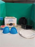 Air fryer accessories.
