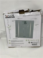 TAYLOR Body composition scale  Lightly used