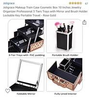 Joligrace 10 inch makeup organizer  Condition: