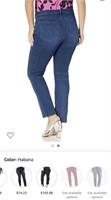 New NYDJ Plus Size Sheri Slim Jeans Size 16W