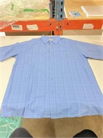 Appears New Haggar Men's Button Down Short Sleeve