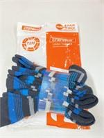 New Enerware Women's Trail Socks (4Pairs) Size