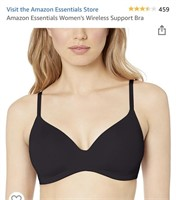 New Amazon Essentials Women's Wireless Bra Size