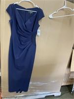 New Alex Evenings Women's Slimming Ong Cap Sleeve