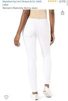 New Levi's Gold Label Maternity Skinny Jeans Size
