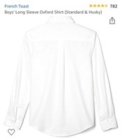 New French Toast Boys Long Sleeve Oxford Shiry