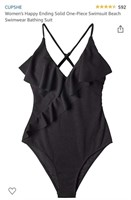 New Cupshe Women's Happy Ending One Piece