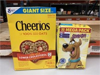 BB Jan 2021 Cheerios and Scooby Doo snacks