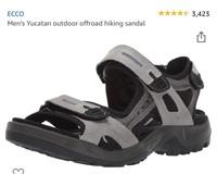 ECCO Men's Yucatan outdoor offroad hiking sandal-