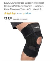 New EXOUS Knee Brace Support Protector - Relieves