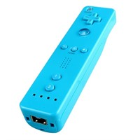 Light Blue Remote Controller and Nunchuck