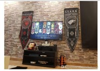 3 Pack Game of Thrones House Banners with
