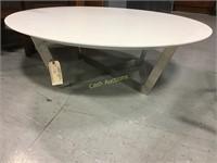 White Circle Coffee Table