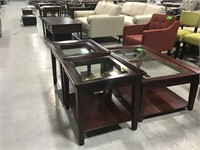 2 End Tables & Coffee Table