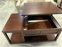 Consoul Table w/Lift Top, Veneer