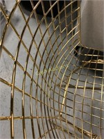Chair, Gold Metal