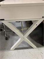 White Desk w/3 Drawers & Chair