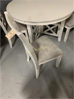 5 pc White Dining Set
