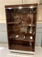 Curio Cabinet w/Glass Doors