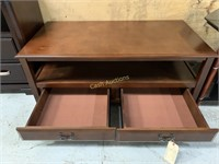 """TV Stand with 2 Drawers, 45 1/2"""" x 23 1/2"""" x  18"""""""