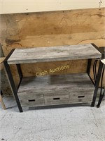 3 Drawer Side Table