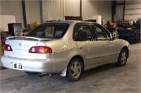 2002 Toyota Corolla Car
