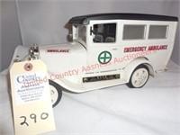 Ambulance w/sealed Jim Beam Bottle