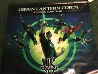 Green Lantern Corps Vinyl Promo Poster