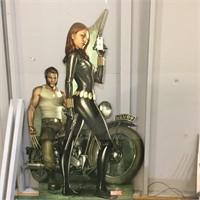 Wolverine & Black Widow Cardboard Cutout