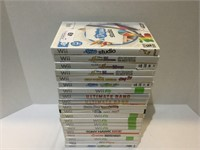 (20) Wii Game Lot