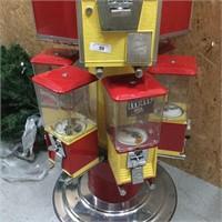 "Vintage Northwestern ""Carnival"" Vending Machine"