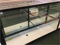 3 Shelf Lighted Glass Display