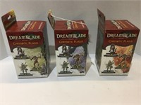2007 (3) Dreamblades Booster Pack Boxes
