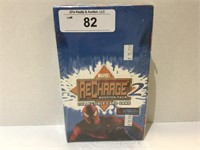 Box of 2002 Marvel Recharge Booster Packs