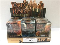 (9) Lord of the Rings Trading Card Game