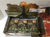 (2) 2004Boxes of Lord of the Rings Trading Card Ga