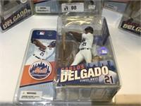 (4) Mcfarlane Baseball Carlos Delgado Figures NIB