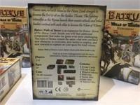 (4) 2007 Battue Walls of Tarso's Expansion Packs