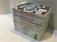 (12) Wii Game Lot